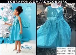 SHOP WITH ADA — AVON Disney Frozen Elsa Party Dress Item...