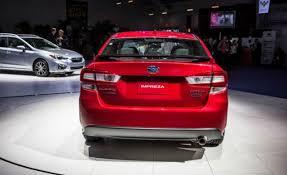 2018 subaru impreza sedan.  sedan 2018 subaru impreza rear and subaru impreza sedan