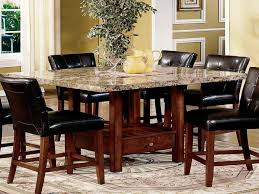 Granite Kitchen Table And Chairs Granite Dining Room Tables Tjihome