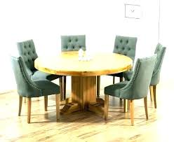 table 8 chairs rustic round