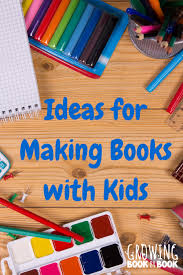 Creative book making ideas for kids - KidLit Feature