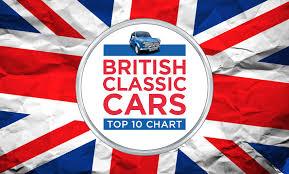 Classic Cars Uk Top 10 British Classic Cars Chart
