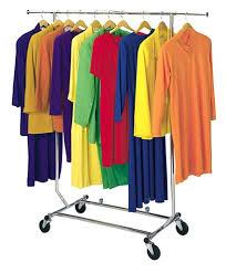 Rolling Clothes Rack Clip Art