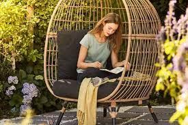 b q is ing a stunning egg chair