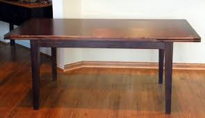 custom made dutch pull or draw leaf dining table