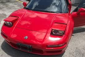 Have Yourself A Barely Used Formula Red 1993 Acura NSX