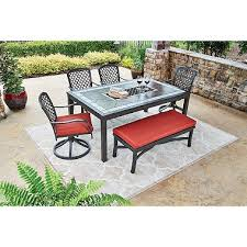 St Petersburg 6 Piece Dining Set with Bench Sam s Club
