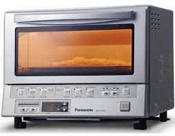 panasonic nb g110p flash xpress toaster oven in silver available from