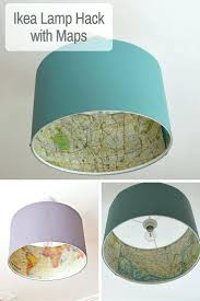 jungle lamp shade unique lampshades ideas on the best hack map lampshade  shades