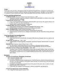 Resume For Graduate Student Alluring Resume For Graduate School