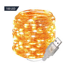 Usb Fairy Lights Us 3 59 10 Off Fairy Lights 10m 100 Led Usb String Lights Waterproof Decorative Lights For Bedroom Patio Christmas Wedding Party Indoor Outdoor In