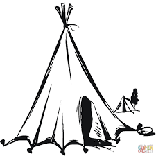 Small Picture Nomads Tent coloring page Free Printable Coloring Pages