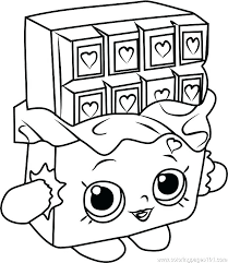 Shopkins Coloring Pages Free To Print Coloring Pages Of Cute Fresh
