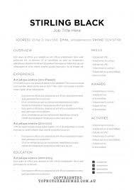 Browse our Resume Templates at Top Notch Resumes