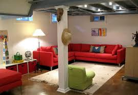 Unfinished Basement Design Property Impressive Inspiration Design