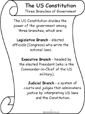 essay about the three branches of government