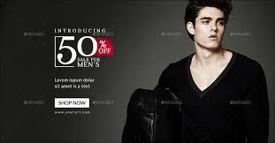 Fashion Banner Men Fashion Banners