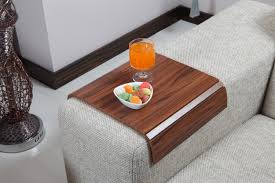 Couch Tray Table Sofas Center Sofa Tray Table Cm Long Brazilian Walnut Arm