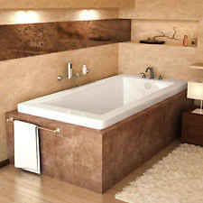 Bronzino 32 x 72 Rectangular Soaking Drop-In Bathtub - Soaker Tub