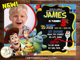 Toy Story Oh My Party Studio