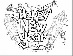 Small Picture beautiful happy new year coloring pages printable with happy new