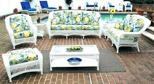 furniture white wicker table and chairs patio furniture sets sectional a serving resin inside r