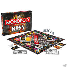 game kiss rock band monopoly