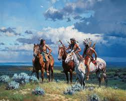 native paintings artwork native american art by martin grelle
