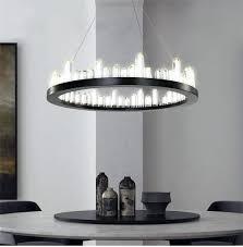 led crystal chandelier led crystal chandelier round shape modern style free sea from best lighting