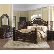serena king piece bedroom set platinum american signature furniture american signature