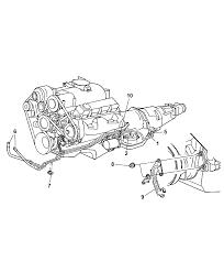 2003 dodge dakota transmission oil cooler lines diagram 00i76699