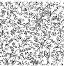 Free Coloring Page Painted Paper Insects