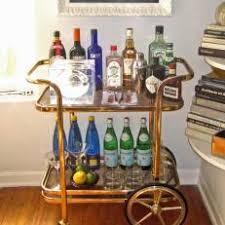 antique bar cart. Gold Vintage Bar Cart Antique