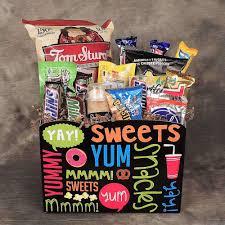 junk food snacks. Plain Food Junk Food Junkie Gift Basket Of Snacks On Snacks