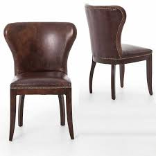70 leather wingback dining chair best bedroom furniture check concept with leather wood dining chairs