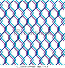chain link fence vector. Chain Link Fence - Csp6317408 Vector I