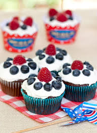 Cupcake Decorating Accessories 100 Patriotic 100th Of July Cupcakes Cupcakes Gallery 84