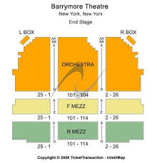 Barrymore Theatre Tickets And Barrymore Theatre Seating