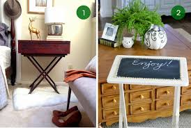 Decorative Tv Tray Tables 100 Clever Ways To Make Over Your TV Tray Tables Tv Trays Clever 59