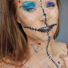 be a human pincushion for diy voodoo doll costume makeup ideas wonderhowto