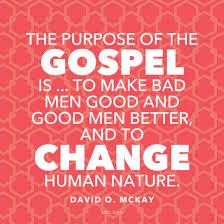 Gospel Quotes Adorable Change Human Nature