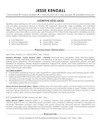 Best Simple Lucrative Hotel Sales Manager Resume For Client