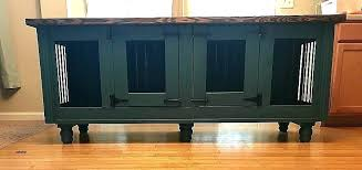 end table dog kennel furniture dog kennel furniture how to build a dog crate end table
