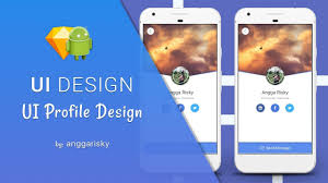 Sketch For Android Ui Design Profile Ui Sketch App To Android Xml Tutorial Bestofux