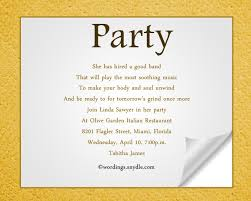 invitation for a party party invitation message amazing invitation template design by