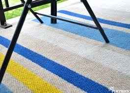 outdoor rug pattern stripe blue threshold and yellow navy rugs