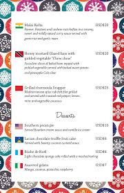 christmas menu borders coco palms 2014 christmas menu