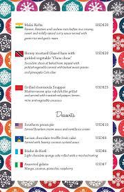 christmas menu borders coco palms 2014 christmas menu