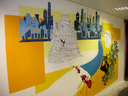 wall paintings for office. Office-wall-painting-ideas-21 W Wall Paintings For Office