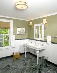ideas for bathroom lighting. Tube Shaped Ceiling Lamps Above Restroom Table As Bathroom Lighting Ideas For